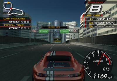 Ridge Racer V - Screenshot - Gameplay