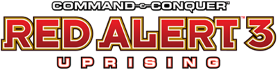 Command & Conquer: Red Alert 3: Uprising - Clear Logo
