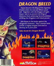 Dragon Breed - Box - Back
