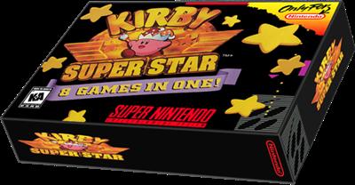 Kirby Super Star SNES Box Art Cover by beardedwalrus |Kirby Super Star Box