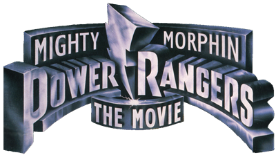 Mighty Morphin Power Rangers: The Movie - Clear Logo