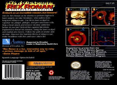 Rex Ronan: Experimental Surgeon - Box - Back