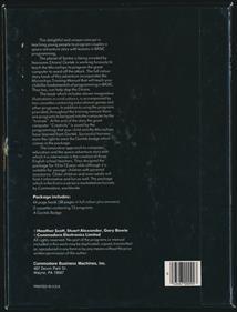 Gortek and the Microchips - Box - Back