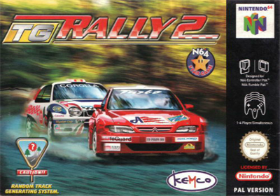 Top Gear Rally 2 - Box - Front