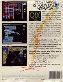 Qix - Box - Back