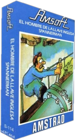 Spanner Man  - Box - 3D