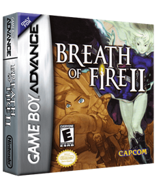 Breath of Fire II - Box - 3D