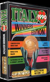 Italy 1990: Winners Edition - Box - 3D