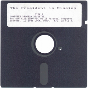The President is Missing - Disc