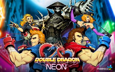 Double Dragon Neon - Fanart - Background