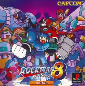 Mega Man 8 - Box - Front