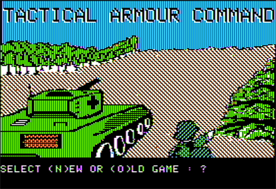 TAC: Tactical Armor Command - Screenshot - Game Title