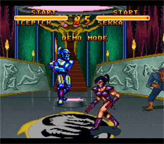 Double Dragon V: The Shadow Falls - Screenshot - Gameplay