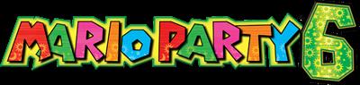 Mario Party 6 - Clear Logo