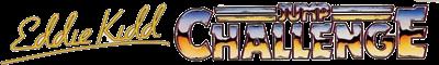 Eddie Kidd Jump Challenge - Clear Logo