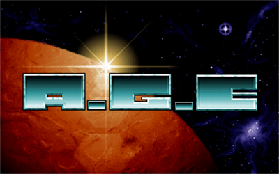 A.G.E. - Screenshot - Game Title