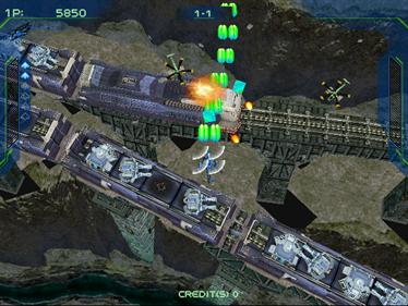 Zero Gunner 2 - Screenshot - Gameplay
