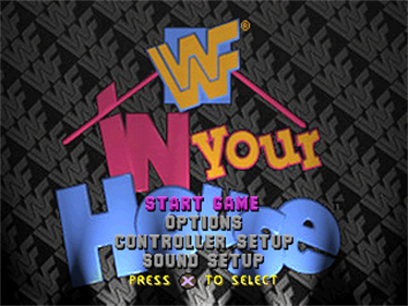 WWF In Your House - Screenshot - Game Select
