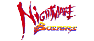 Nightmare Busters - Clear Logo