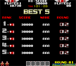 Rygar - Screenshot - High Scores