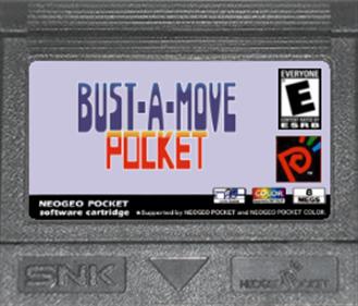 Bust-A-Move Pocket - Fanart - Cart - Front