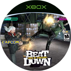 Beat Down: Fists of Vengeance - Disc