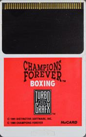 Champions Forever Boxing - Cart - Front