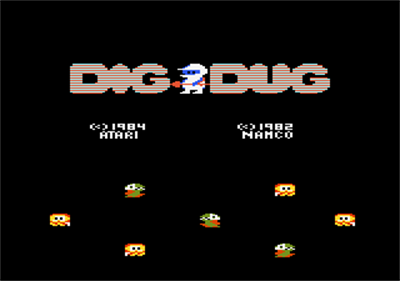 Dig Dug - Screenshot - Game Title