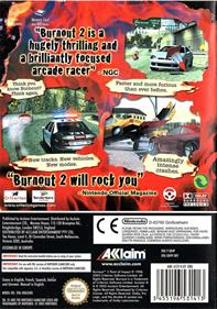 Burnout 2: Point of Impact - Box - Back