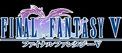 Final Fantasy V - Clear Logo