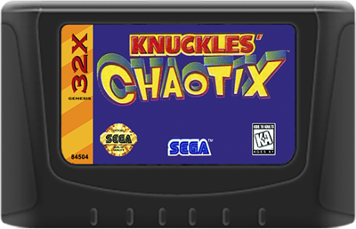 Knuckles' Chaotix - Cart - Front
