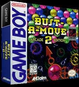 Bust-A-Move 2: Arcade Edition - Box - 3D