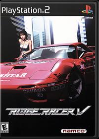 Ridge Racer V - Fanart - Box - Front