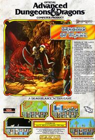 Dragons of Flame - Advertisement Flyer - Front