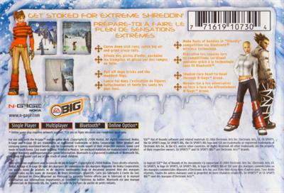 SSX: Out of Bounds - Box - Back