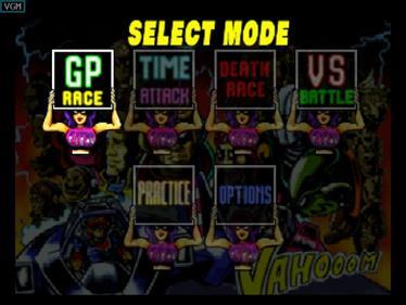 F-Zero X - Screenshot - Game Select