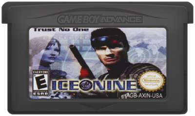 Ice Nine - Cart - Front