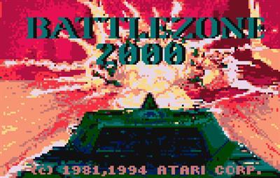 Battlezone 2000 - Screenshot - Game Title