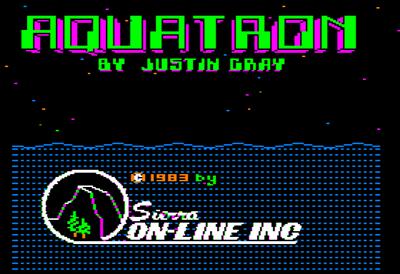 Aquatron - Screenshot - Game Title
