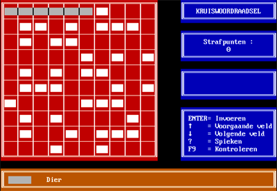 Kruiswoord - Screenshot - Gameplay