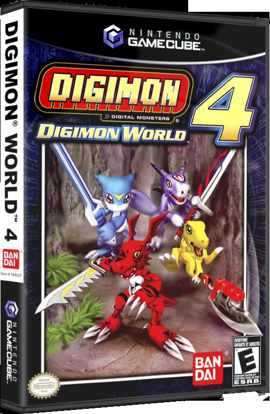 digimon 4 gamecube