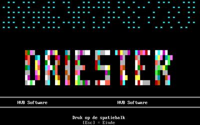 Driester - Screenshot - Game Title