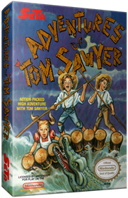 Adventures of Tom Sawyer - Box - 3D