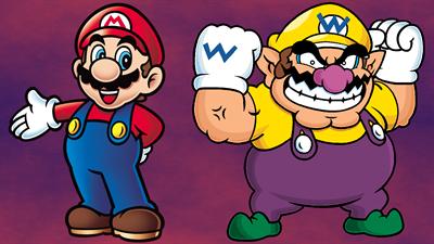 Mario To Wario: Mario & Wario - Fanart - Background