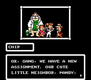 Chip 'N Dale Rescue Rangers - Screenshot - Gameplay
