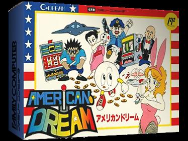 American Dream - Box - 3D