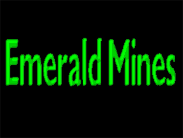 Emerald Mines - Screenshot - Game Title