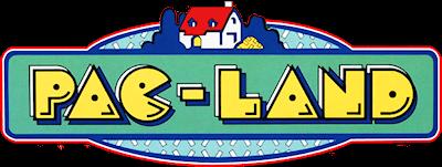 Pac-Land - Clear Logo