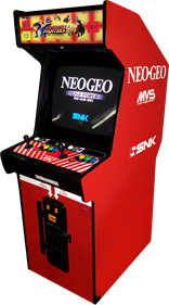 The King of Fighters '98: The Slugfest - Arcade - Cabinet