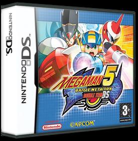 Mega Man Battle Network 5: Double Team DS - Box - 3D